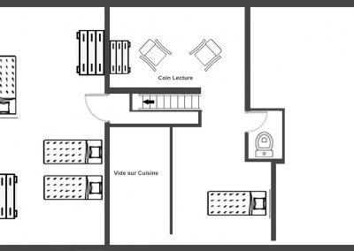 Plan étage Bailletta