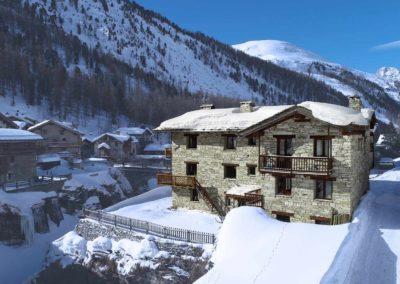 Agréable hiver au Chalet Bazel