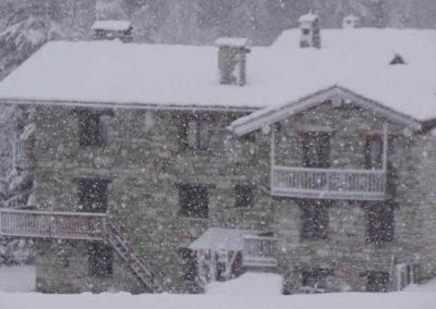 Début d'hiver au Chalet Bazel